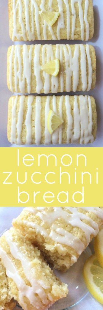 Sweet, lemony, soft, moist, light and filled with zucchini! This lemon zucchini bread is a yummy summertime treat with the lemon zest and a perfect way to use up some zucchini. This bread won't last long once it's made.