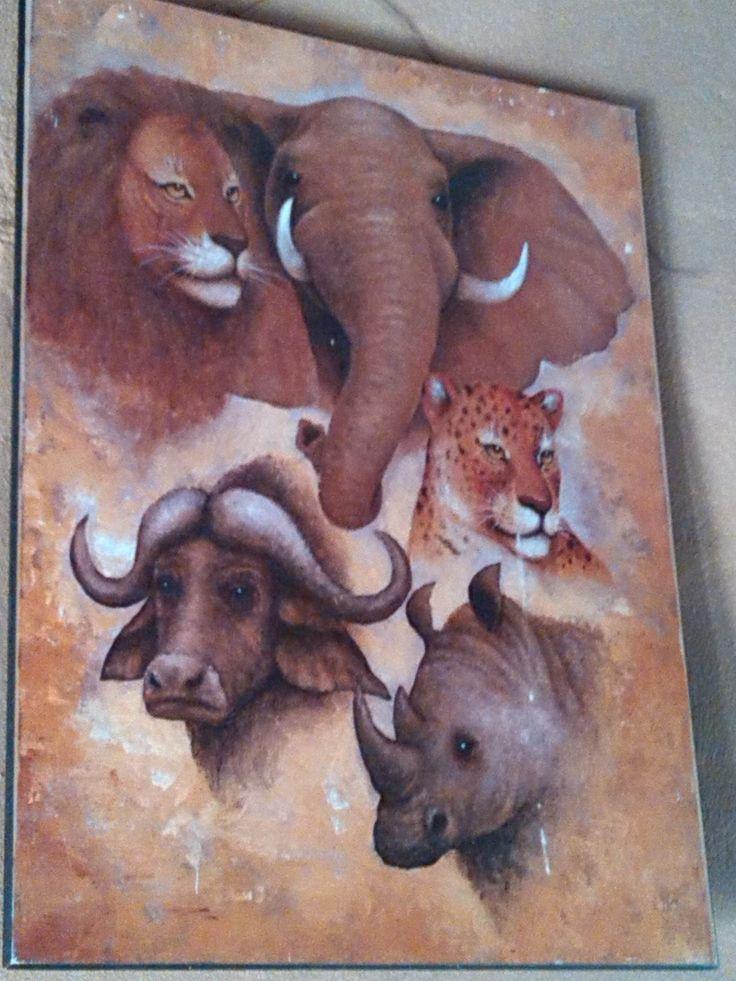 Afrikai szafari és kaszinó - big five