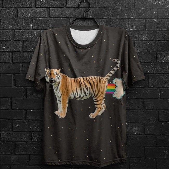 Camiseta  Tigresa Surreal Titio Avô