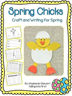 Spring Chicks Craft and Writing! Fun for Spring!!