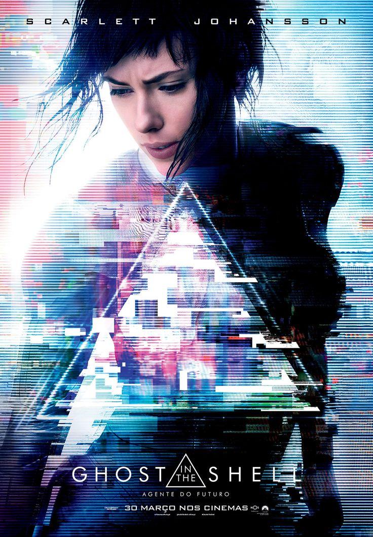 """Um filme baseado no sucesso internacional de ficção científica, """"Ghost in the Shell: Agente do Futuro""""."""