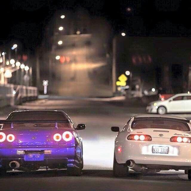GTR Vs Supra | Nissan GTR | Pinterest | Toyota Supra, Nissan Skyline And Jdm