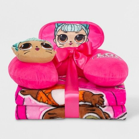 L.O.L. Surprise ! Kids Travel Pillow