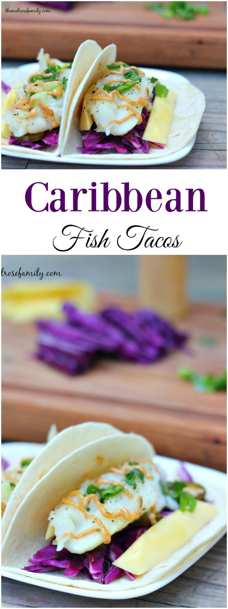 Caribbean fish tacos recipe easy weeknight meals fish for Simple fish taco recipe