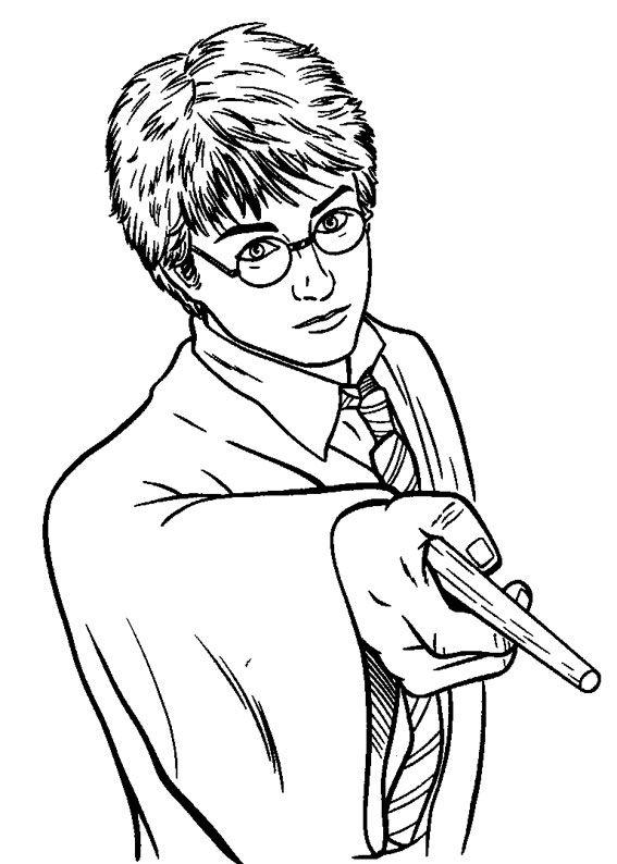 120 Disegni Di Harry Potter Da Colorare Harry Potter Disegni Di