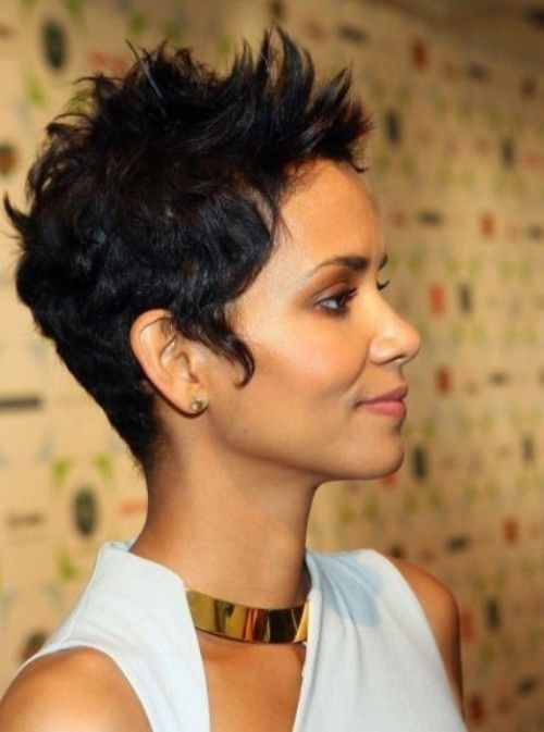 Halle Berry Black Hairstyles Fall 2016