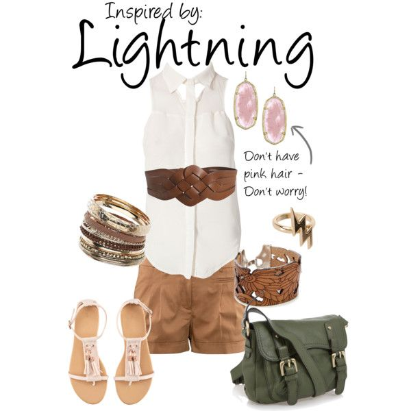 Lightning (Final Fantasy XIII), created by ladysnip3r on Polyvore