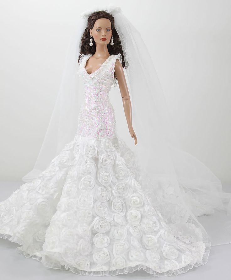 Barbie Wedding Dress: 2105 Best Wedding Dresses For Dolls. Images On Pinterest
