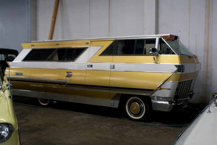 Winnebago RV at the vintage car museum in San Francisco. photo by Marcin Wichary on Flickr