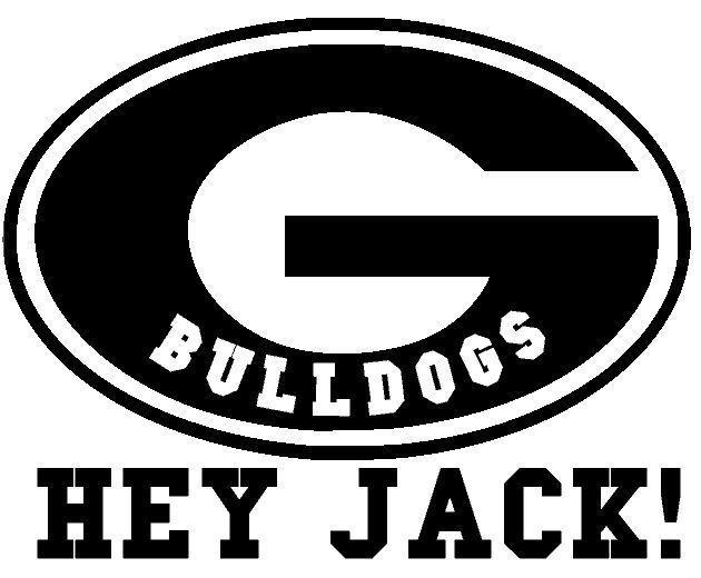 Duck dynasty fans window decal ga bulldogs fan uga 11 5 x 9 5 inches hey jack