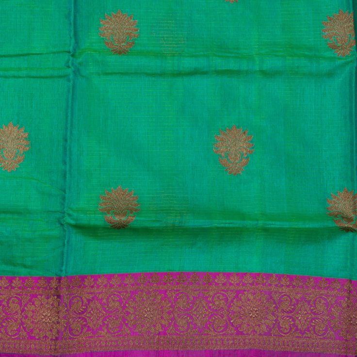 Sailesh Singhania Handwoven Kota Silk Sari 1009354 - Sari / All Saris - Parisera