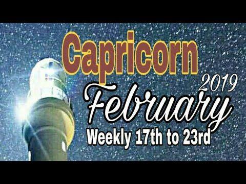Capricorn Feb2019 MAJOR PASSIONATE NEW BEGINNING JOY