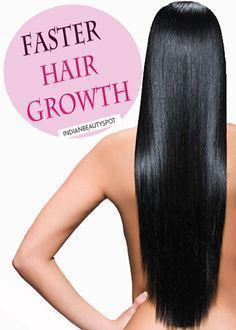 FASTER HAIR GROWTH - Learning how to make your hair grow faster naturally is easy, you just have to use this simple at-home hair treatment to see improvement in your hair's length and health. Read on and take notes.