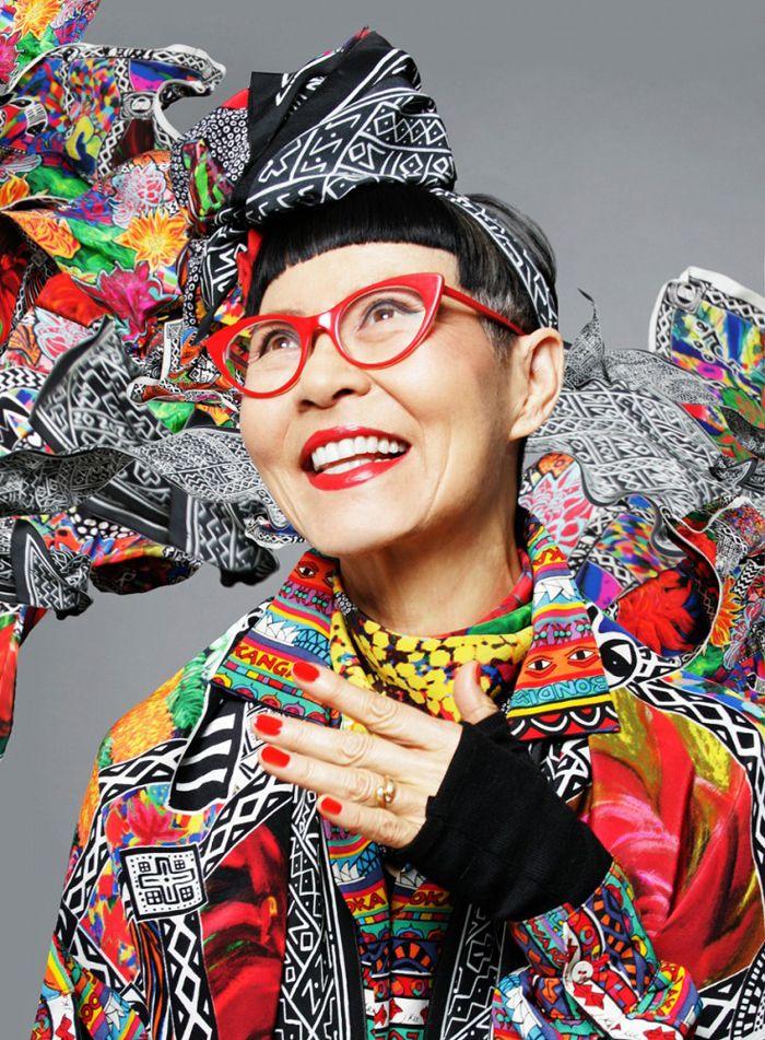 Jenny Kee - iconic Australian fashion designer