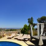 � LUXURY ACCOMMODATION FOR 10 PEOPLE: Spacious, five double bedroom villa located at one of the highest points of La ..