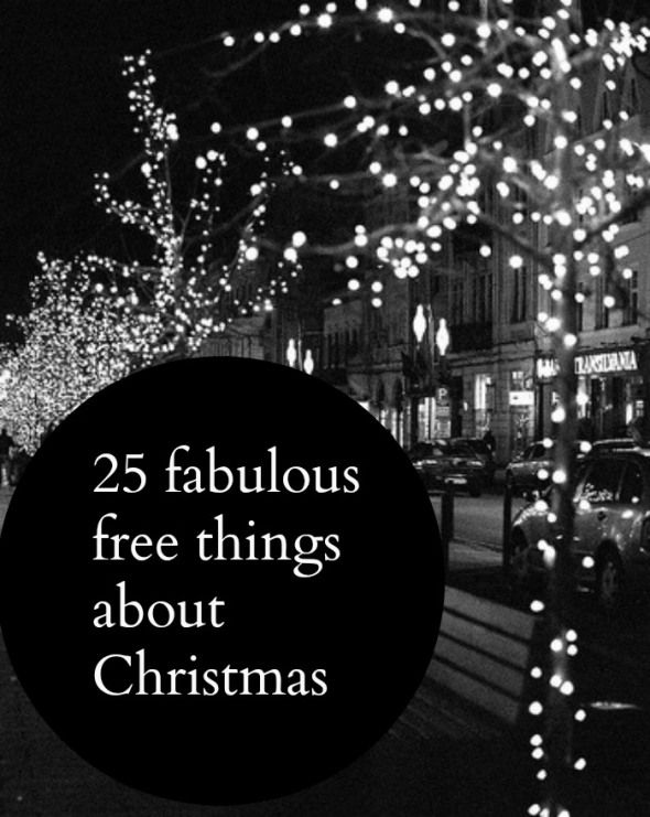 Wanting a frugal and thrifty Christmas ? Here are 25 fabulous free things to do at Christmas just perfect for those of you wanting a money saving Christmas and looking to do Christmas on a budget
