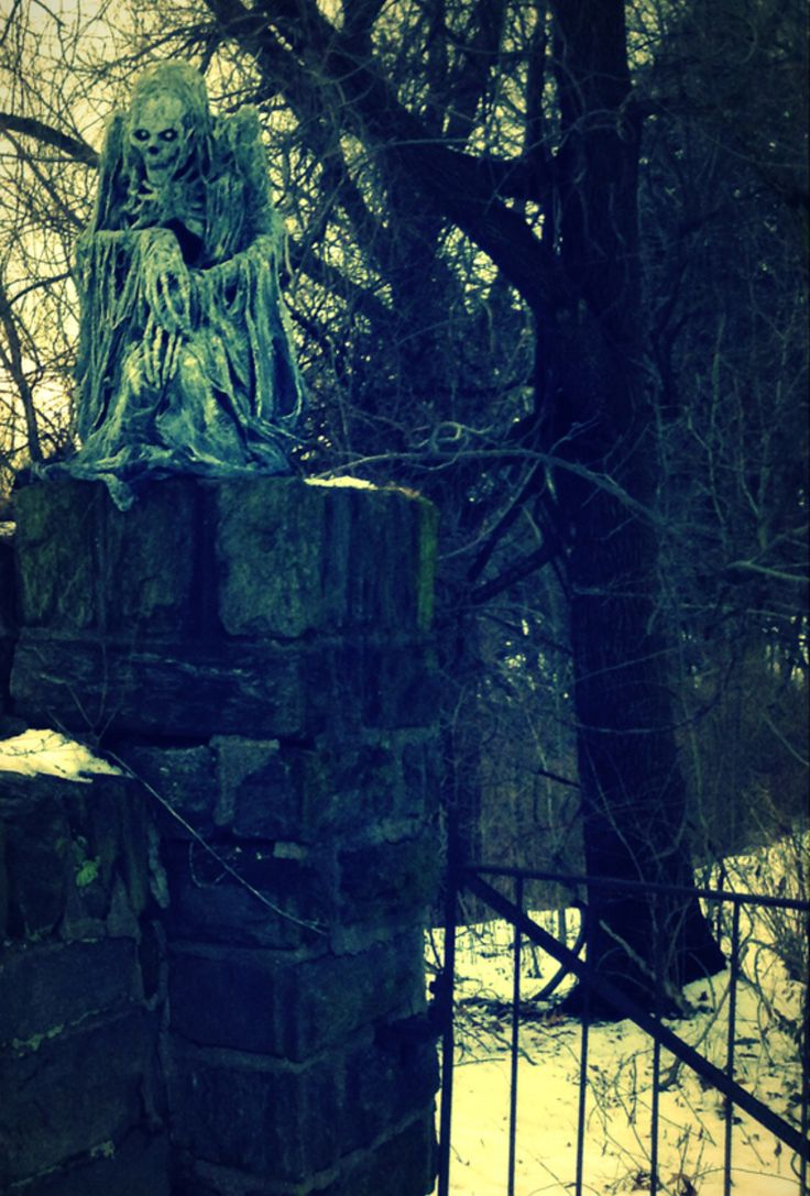 Ghost sentinel pumpkinrot rot pinterest haunted for Haunted woods ideas