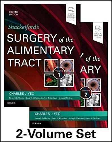 Shackelfords Surgery Of The Alimentary Tract Ebook
