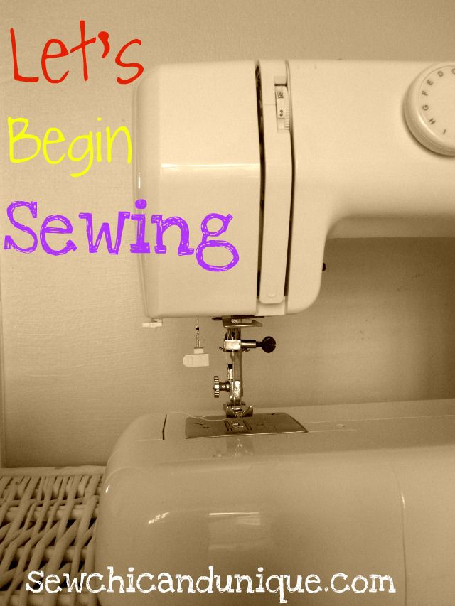 Sewing basics blog