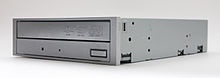 In computing, an optical disc drive (ODD) is a disk drive that uses laser light or electromagnetic waves within or near the visible light spectrum as part of the process of reading or writing data to or from optical discs.