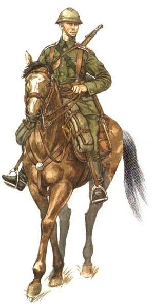 Soldado Polaco, Regimiento de Caballería, Polonia, 1939.