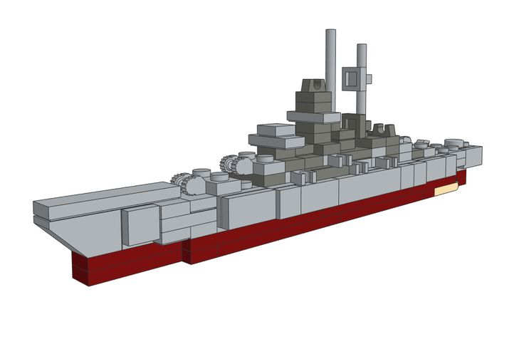 Download the LEGO Prinz Eugen Heavy Cruiser on our website!