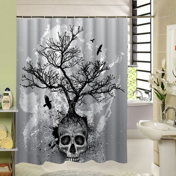 Skull Bathroom Decor For Fun And Entertaining Decor Home