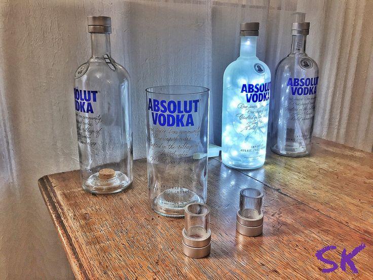 Olha o Kit Fãs de garrafa Absolut aí! Já disponível na loja online. Vem pra SK!