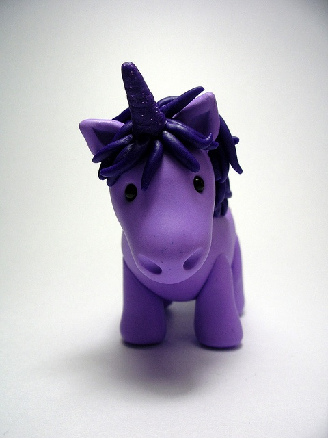 Purple Unicorn- So adorable!