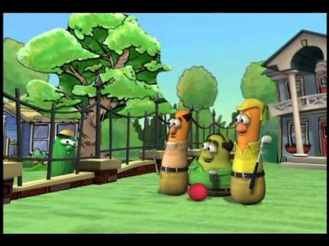 "Veggie Tales (Silly Songs) ""The Gated Community"".... how funny!"