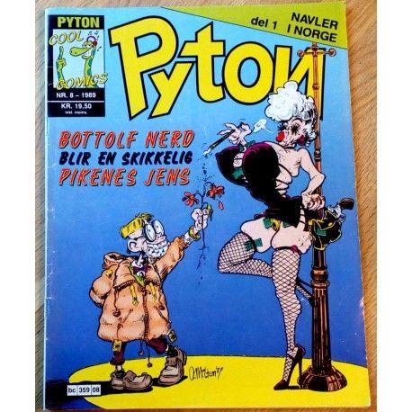 Pyton: 1989 - Nr. 8 - Bottolf Nerd blir en skikkelig pikenes Jens