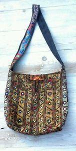 Tasche-Umhaengetasche-ethnische-bagVintage-Stil-Hobo-Boho-Hippie-Thai-Shopper
