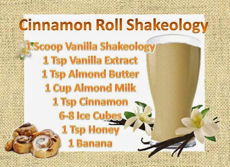 shakeology+cinnamon+bun | Fitness With J Tyree: Vanilla Cinnamon Roll Shake