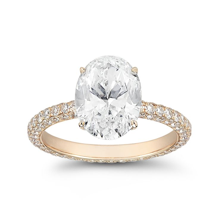 Engagements Rings Infty Engagement Ring Cartier Women -  Gold Engagement Rings Rose Oval Wedding While Straight Red