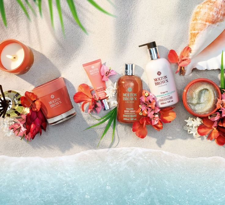 The Heavenly Gingerlily Collection at Molton Brown