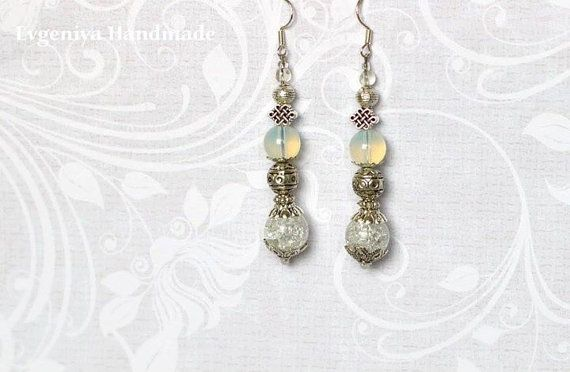Earrings Серьги by MyDayDreamsShop on Etsy