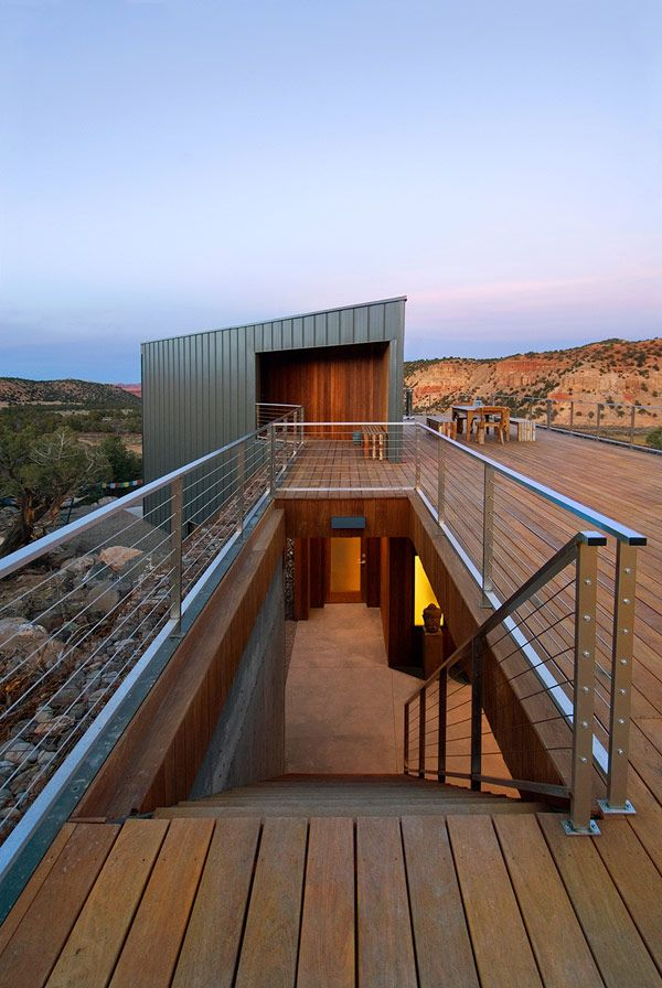 Modern Desert Sanctuary in Utah: The Buddhist Retreat by Imbue Design