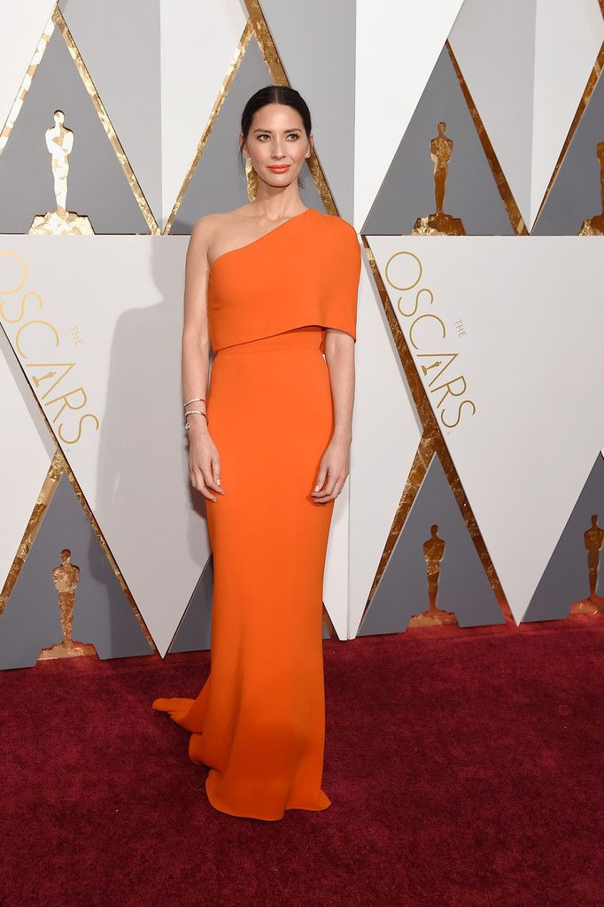 Olivia Munn wearing Stella McCartney at the Academy Awards in California