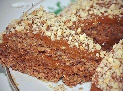 торт в микроволновке без муки и масла