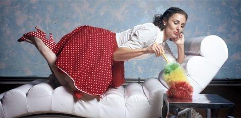 De sportieve huisvrouw