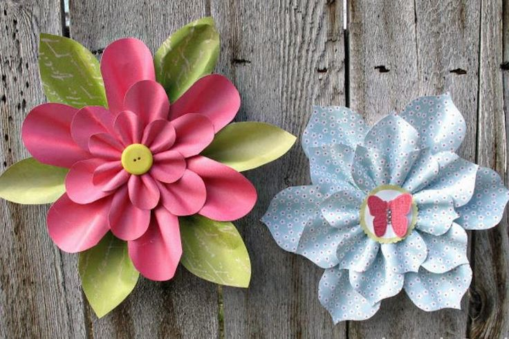 How to Make Paper Flowers: 30+ DIY Paper Flowers | AllFreePaperCrafts.com