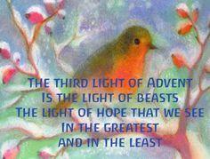 Advent ~ Week Three: The Light of Beasts ~ Verse