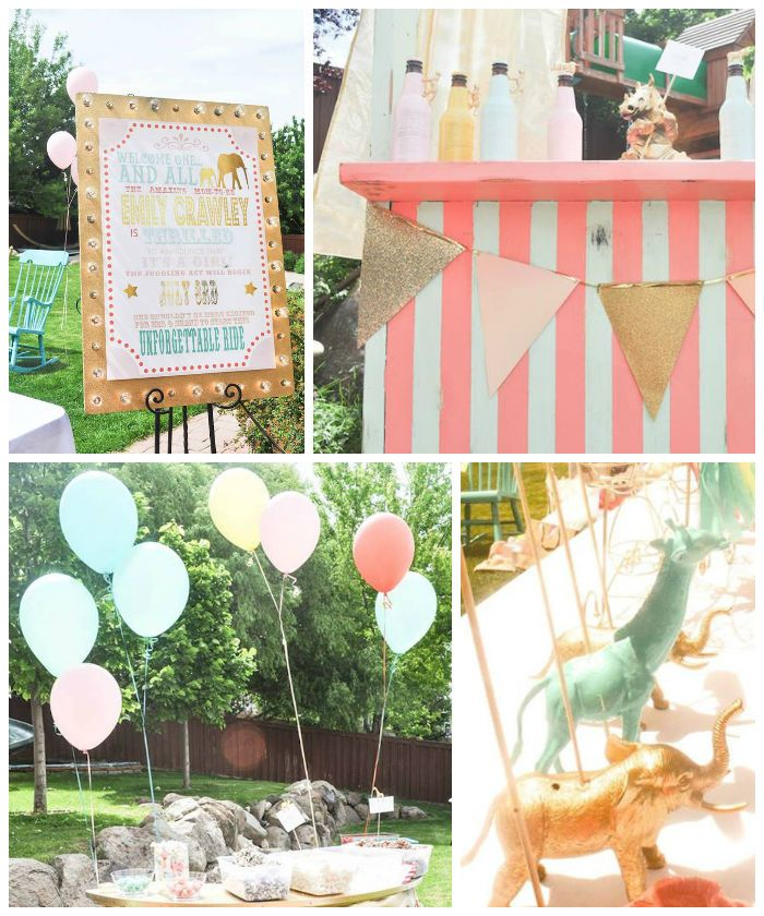 Circus + Carnival Baby Shower via Kara's Party Ideas! KarasPartyIdeas.com (1)