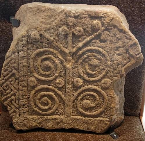 A small museum with an interesting collection of Pictish carved stones