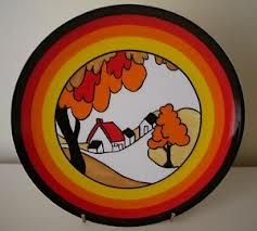 clarice cliff plates - Google Search