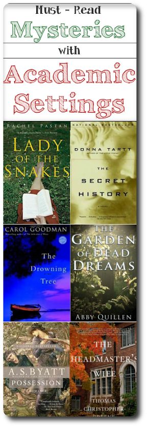 6 spellbinding mysteries set in the academic world. For readers who love a sleuth who knows his/her way around a dusty library. #books #mysteries #booklists #academicmysteries #summerreads #literarythrillers #literarymysteries