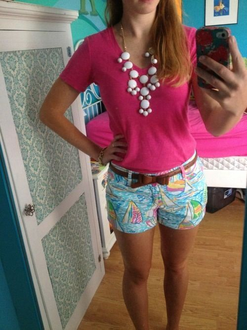Preppy style @bren4831 --thought this outfit looked like you :)