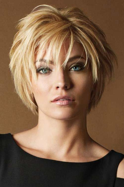 Casual Layered Hairstyles for Short Hair