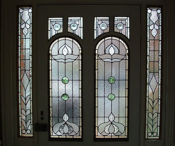 This is a new design based on an edwardian style window for Window glass design 5 serial number