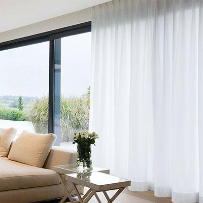 Inside shadow gordijnen pinterest grote ramen raamdecoratie en ramen - Gordijnen landelijke stijl chique ...